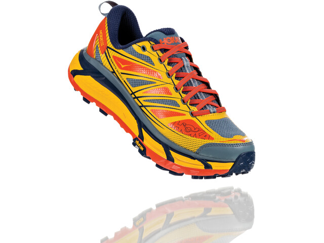 Hoka One One Mafate Speed 2 Running Shoes Herren old gold/moonlight ocean